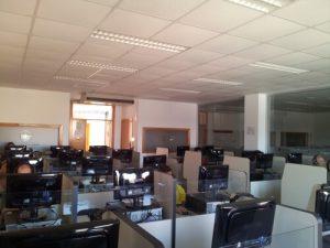 Imagen de salas de estudio multimedia donde se utiliza TipTopTalk!