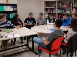 Umagen de un focus group